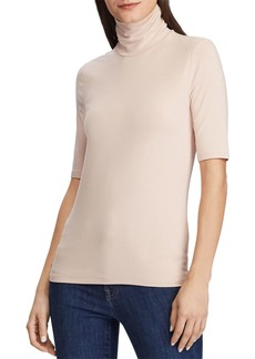 Lauren Ralph Lauren Elbow-Sleeve Turtleneck Tee