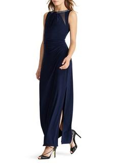 Lauren Ralph Lauren Embellished Gown