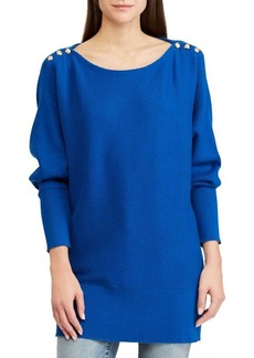Lauren Ralph Lauren Embellished Long-Sleeve Sweater