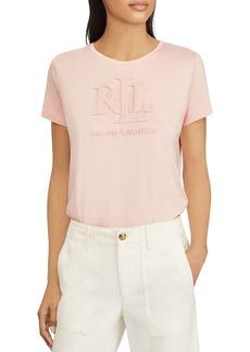 Lauren Ralph Lauren Embossed Logo Tee