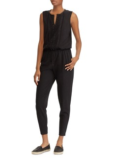 Lauren Ralph Lauren Embroidered Skinny Jumpsuit
