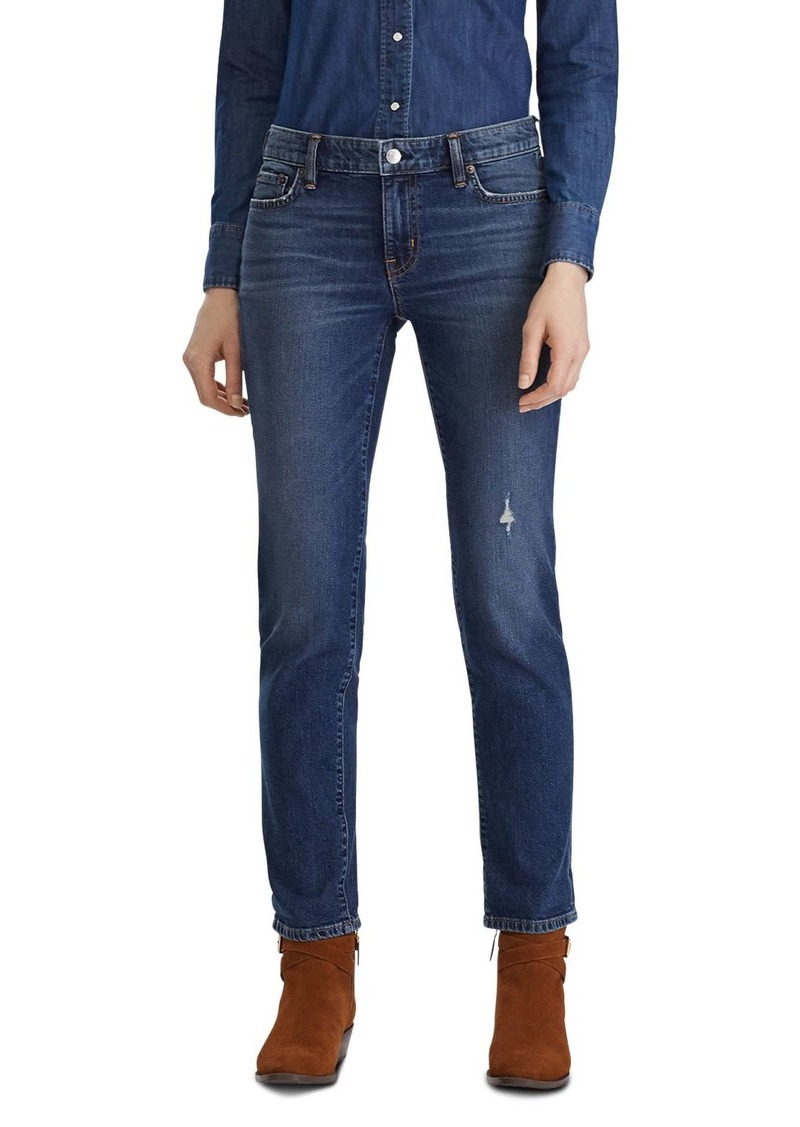 Lauren Ralph Lauren Estate Jeans in Dark Abraded