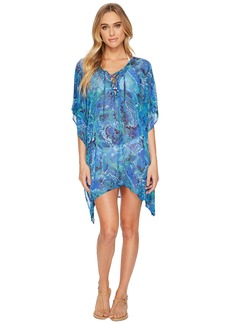 Ralph Lauren Exotic Paisley Laced Tunic Cover-Up