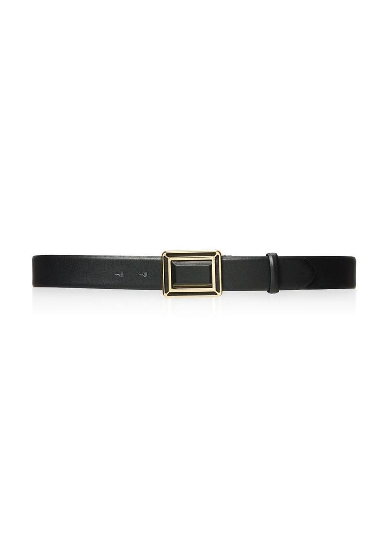 Lauren Ralph Lauren Faceted Deco Plaque Belt