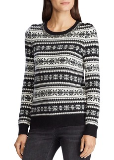 Lauren Ralph Lauren Fair Isle Crewneck Sweater