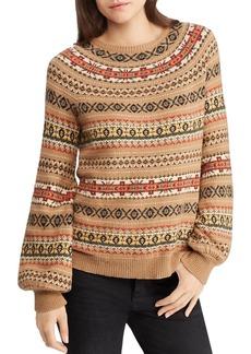 Lauren Ralph Lauren Fair Isle Intarsia Sweater - 100% Exclusive