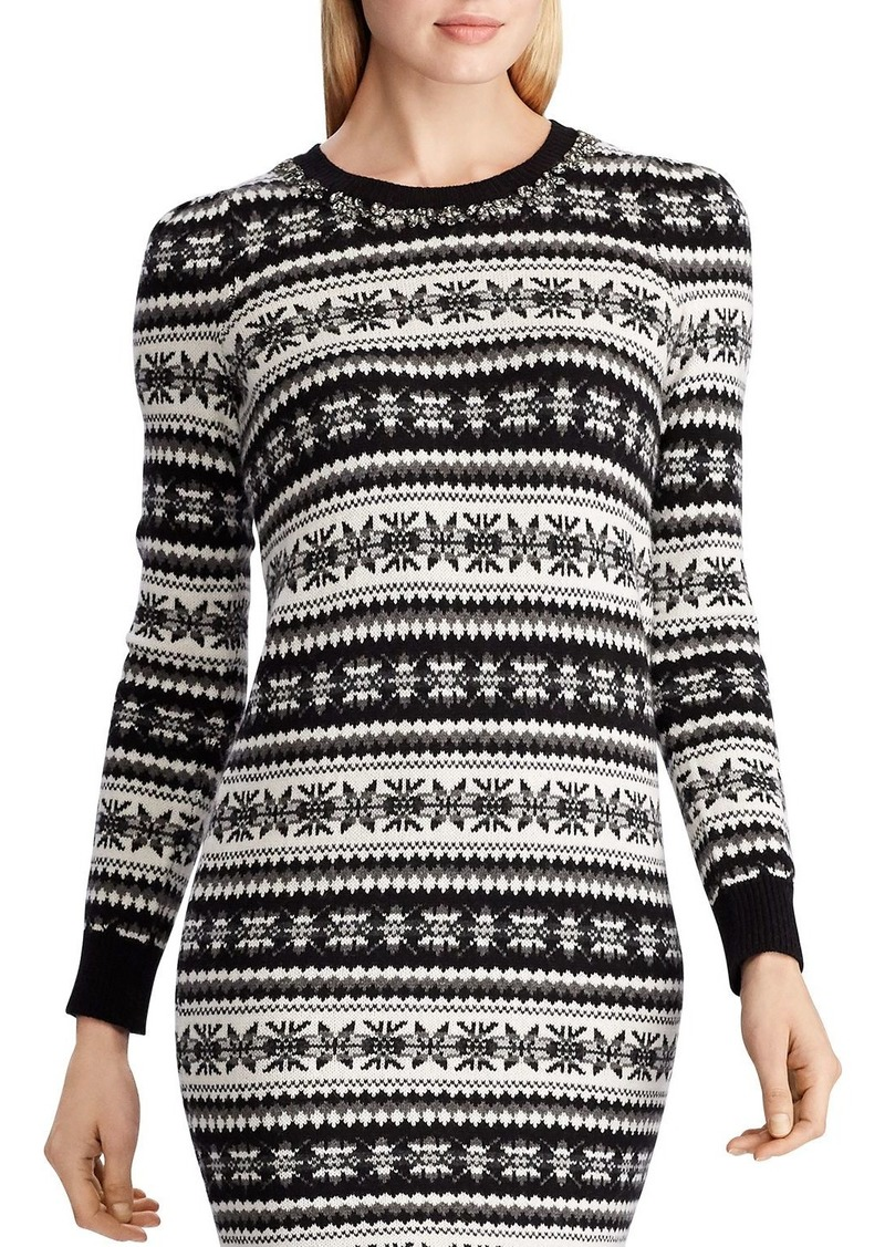Lauren Ralph Lauren Fair Isle Sweater Dress