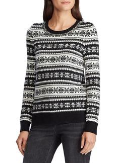Lauren Ralph Lauren Fair Isle Wool-Blend Sweater