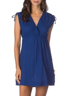 Lauren Ralph Lauren Farrah Shoulder-Tie Dress