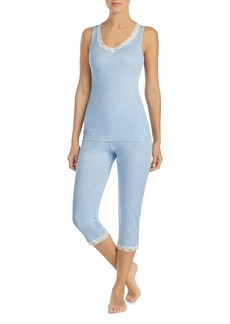 Lauren Ralph Lauren Fashion Knits Capri PJ Set