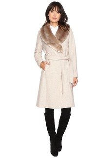 Ralph Lauren Faux Fur Collar Wrap