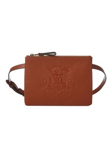 Lauren Ralph Lauren Faux Leather Anchor Belt Bag