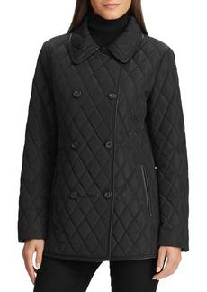 Lauren Ralph Lauren Faux-Leather Quilted Jacket