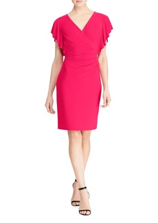 Lauren Ralph Lauren Faux Wrap Dress