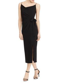 Lauren Ralph Lauren Faux Wrap Jersey Dress - 100% Exclusive