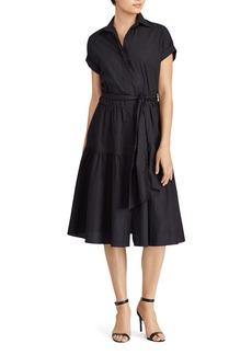Lauren Ralph Lauren Fit-and-Flare Shirt Dress