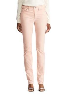 Lauren Ralph Lauren Five-Pocket Corduroy Pants in Winter Rose