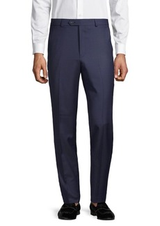 Lauren Ralph Lauren Classic-Fit Flat-Front Wool-Blend Suit Separate Pants