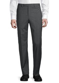 Lauren Ralph Lauren Flat-Front Wool-Blend Pants