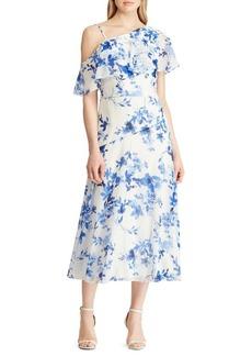 Lauren Ralph Lauren Floral A-Line Dress
