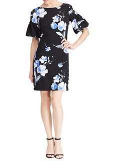 Lauren Ralph Lauren Floral Bell-Sleeve Sheath Dress