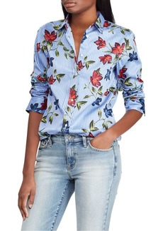 Lauren Ralph Lauren Floral Cotton Shirt