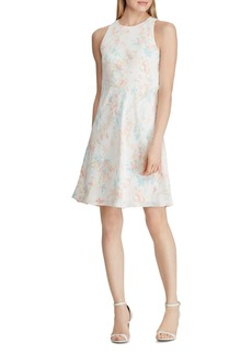 Lauren Ralph Lauren Floral Crepe Dress
