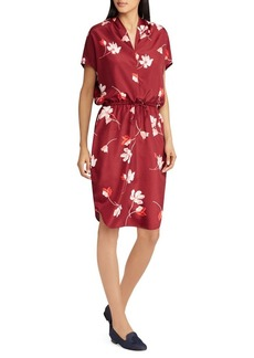 Lauren Ralph Lauren Floral Drawstring Dress