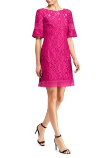 Lauren Ralph Lauren Floral Elbow-Length-Sleeve Sheath Dress
