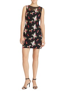 Lauren Ralph Lauren Floral Embroidered Dress