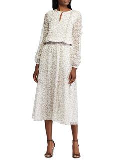 Lauren Ralph Lauren Floral Georgette Dress