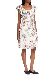 Lauren Ralph Lauren Floral Jacquard Dress