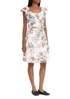 Lauren Ralph Lauren Floral Jacquard Dress