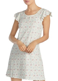 Lauren Ralph Lauren Floral Knit Short Gown