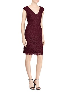 Lauren Ralph Lauren Floral Lace Dress