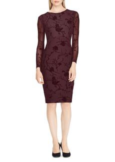 Lauren Ralph Lauren Floral Mesh Dress