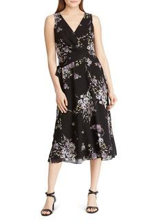 Lauren Ralph Lauren Floral Midi Dress