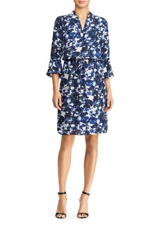 Lauren Ralph Lauren Floral Print Georgette Dress