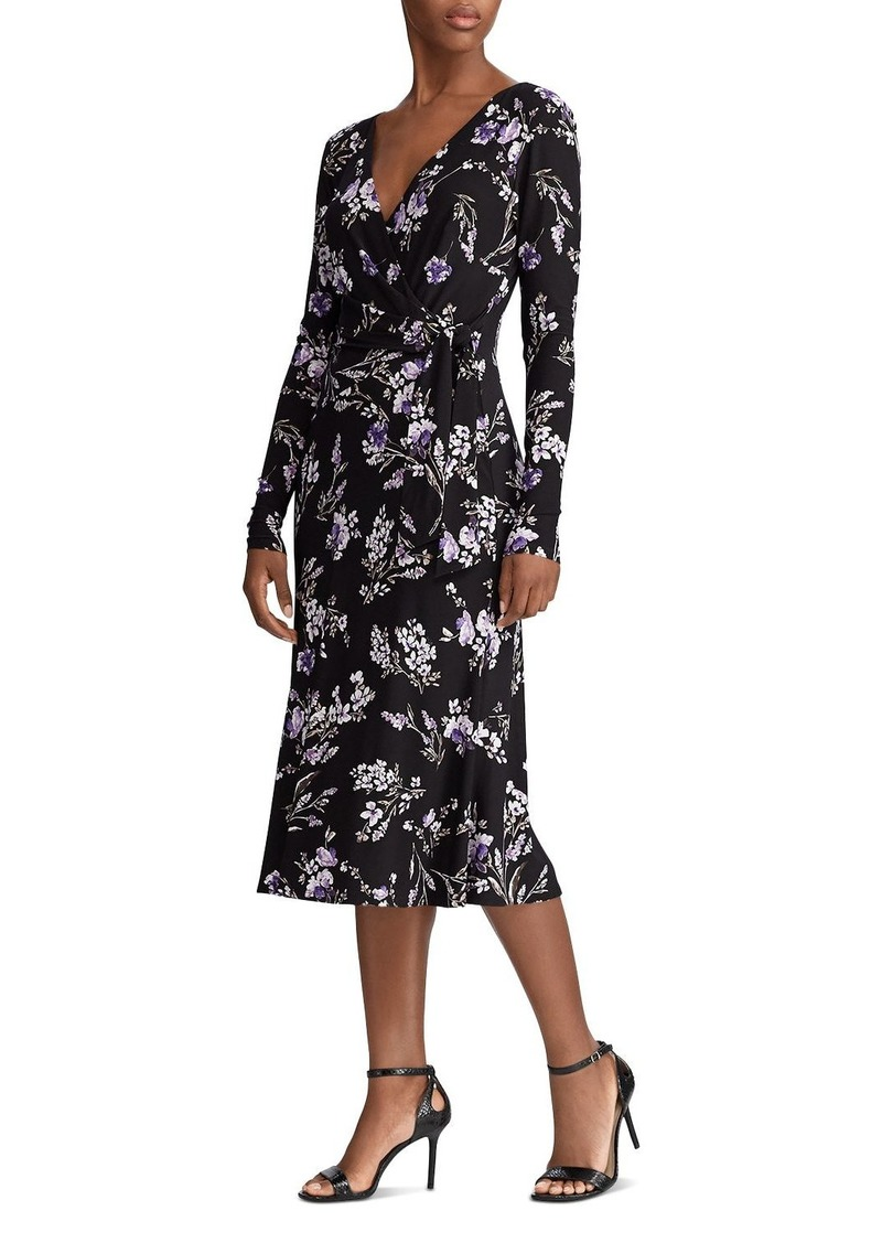 Lauren Ralph Lauren Floral-Print Wrap Dress
