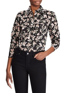 Lauren Ralph Lauren Floral Printed Button-Down Shirt