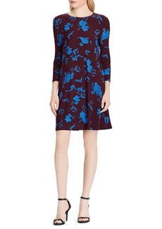 Lauren Ralph Lauren Floral Printed Fit-&-Flare Dress