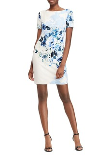Lauren Ralph Lauren Floral Sheath Dress