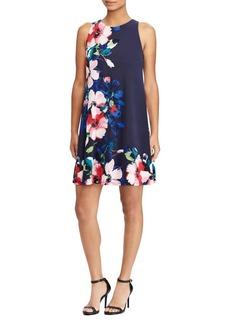 Lauren Ralph Lauren Floral Sleeveless A-Line Dress