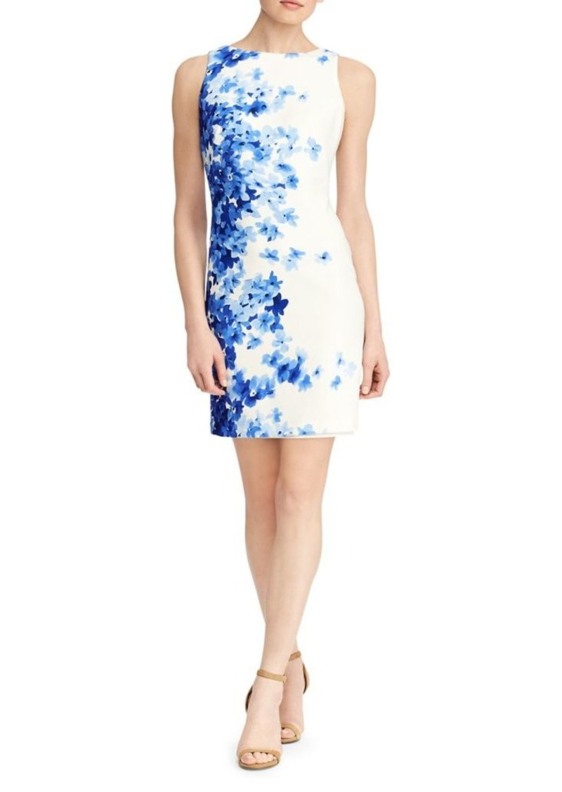 9a6032d2 Ralph Lauren Lauren Ralph Lauren Floral Sleeveless Sheath Dress