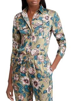 Lauren Ralph Lauren Floral Twill Shirt