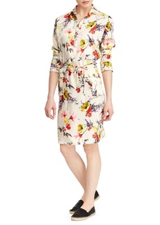 Lauren Ralph Lauren Floral Twill Utility Dress