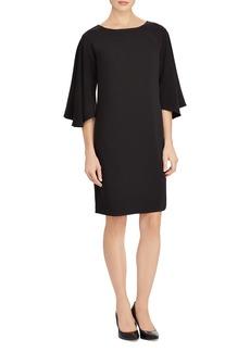 Lauren Ralph Lauren Flutter Sleeve Shift Dress