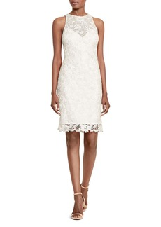 Lauren Ralph Lauren Foiled Lace Dress