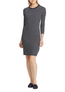 Lauren Ralph Lauren Foulard Print Dress