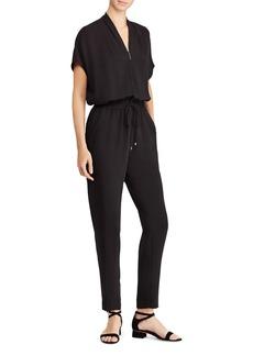 Lauren Ralph Lauren Front-Zip Jumpsuit